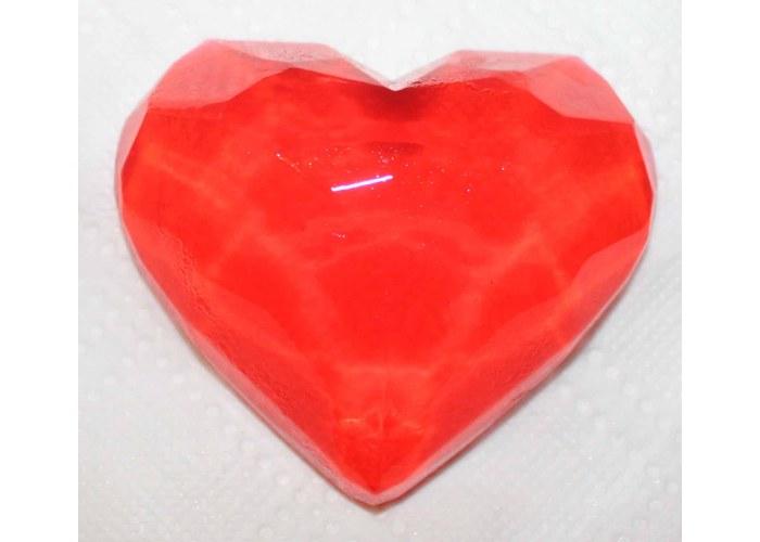 Как сделать прозрачные сердечки 702